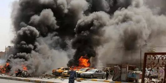 Bagdad, Irak - W trzech zamachach bombowych zginęło co najmniej 88 osób -2