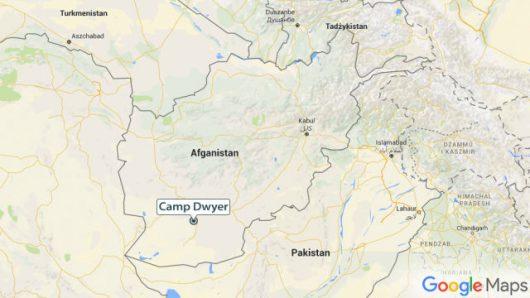 Camp Dwyer to była amerykańska baza wojskowa