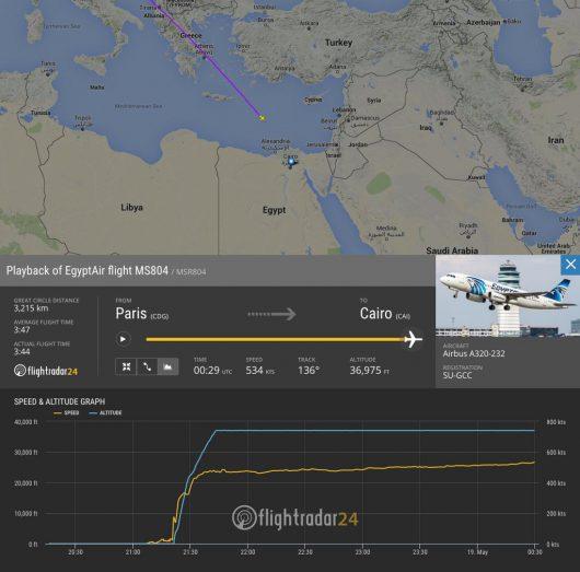 Egipt - Zaginął samolot linii EgyptAir -2