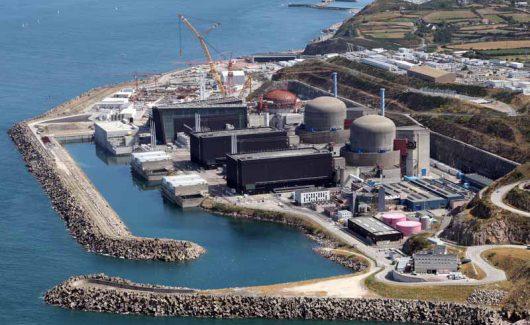 Francja - Elektrownia atomowa we Flamanville