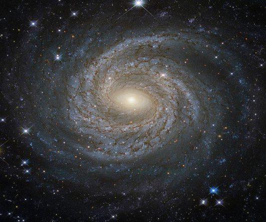 Galaktyka NGC 6814 /ESA/Hubble/NASA