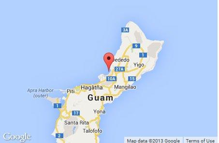 Guam - Rozbił się amerykański bombowiec strategiczny B-52H -2
