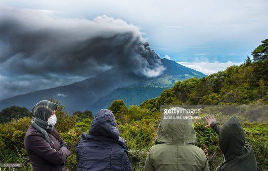 Kostaryka - Największa od 6 lat erupcja wulkanu Turrialba
