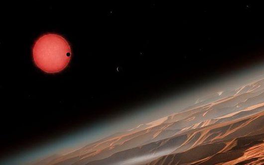 Odkryto trzy nowe planety możliwe do zamieszkania 2