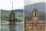 Potosi, Wenezuela - Miasteczko w 1984 roku zostało zalane, teraz wyschła woda -2