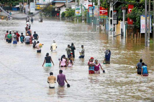 Sri Lanka - Ulewy największe od ćwierćwiecza -1