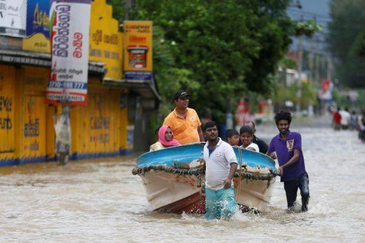 Sri Lanka - Ulewy największe od ćwierćwiecza -2