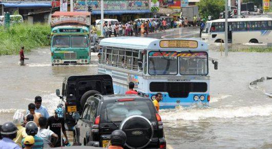 Sri Lanka - Ulewy największe od ćwierćwiecza -6