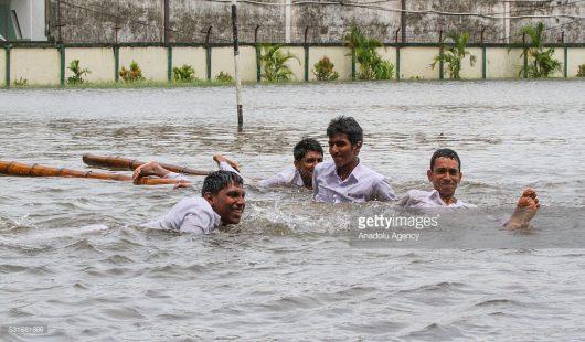 Sri Lanka - W ciągu doby spadła ogromna ilość deszczu -1