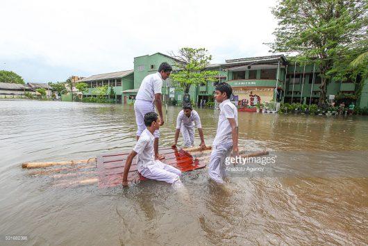 Sri Lanka - W ciągu doby spadła ogromna ilość deszczu -2