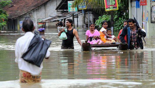 Sri Lanka - W ciągu doby spadła ogromna ilość deszczu -4