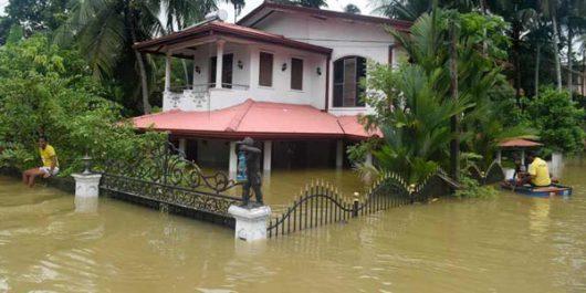 Sri Lanka - W ciągu doby spadła ogromna ilość deszczu -5