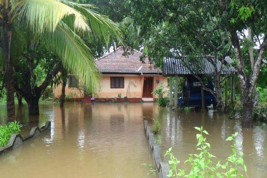 Sri Lanka - W ciągu doby spadła ogromna ilość deszczu