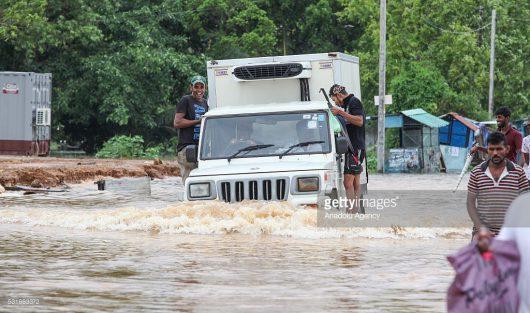 Sri Lanka - W ciągu doby spadła ogromna ilość deszczu -6