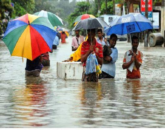 Sri Lanka - W ciągu doby spadła ogromna ilość deszczu -7