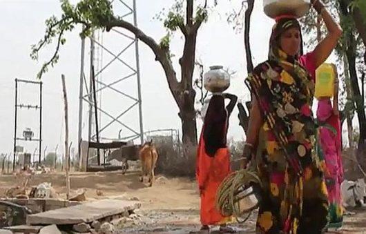 Susza i upaly w Indiach 2