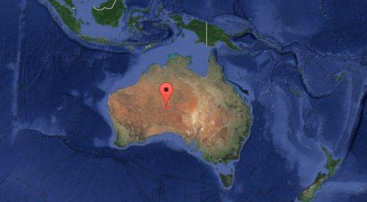 Trzęsienie ziemi - Australia