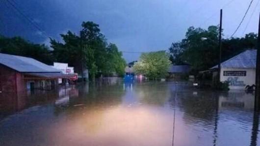 USA - Ogromne opady deszczu w Teksasie -2