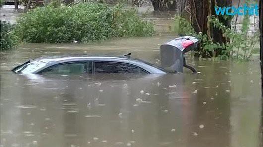 USA - Ogromne opady deszczu w Teksasie -3