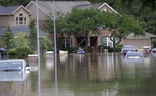 USA - Ogromne opady deszczu w Teksasie -6