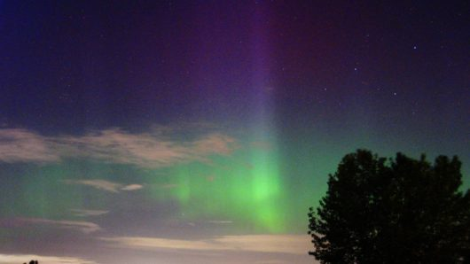 USA - Piękna zorza polarna zarejestrowana nad Seattle