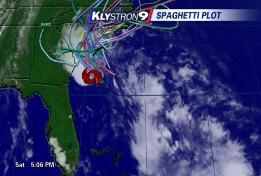 USA - Sztorm tropikalny na Atlantyku dotarł do Stanów Zjednoczonych -3