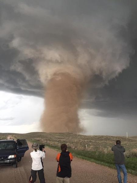 USA - W Kolorado spadły ogromne kule gradu -8