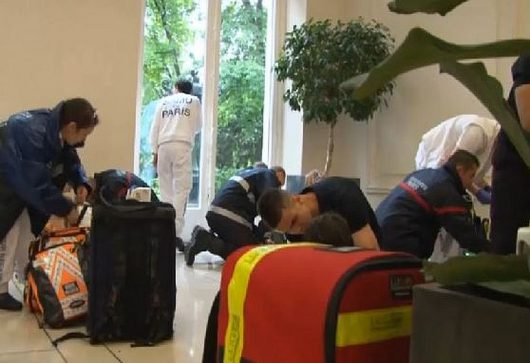 W Paryżu piorun poraził 11 osób.2