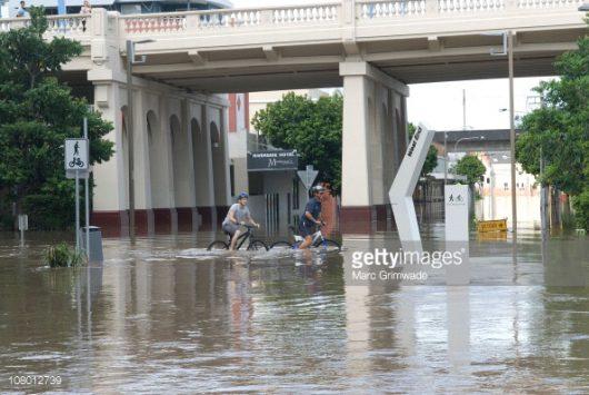 Australia - Powodzie na wschodnim wybrzeżu -1