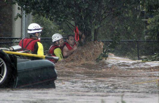 Australia - Powodzie na wschodnim wybrzeżu-2