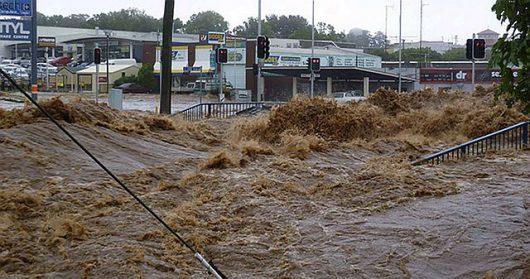 Australia - Powodzie na wschodnim wybrzeżu -3