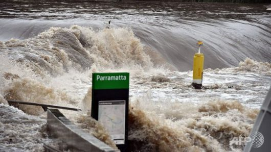 Australia - Powodzie na wschodnim wybrzeżu -4