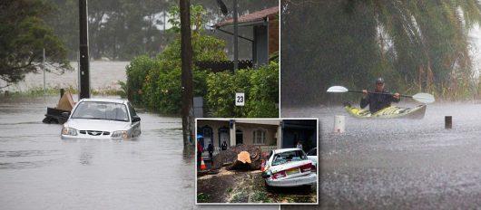 Australia - Powodzie na wschodnim wybrzeżu -5
