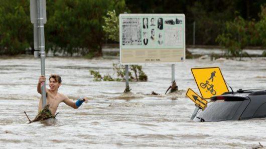 Australia - Powodzie na wschodnim wybrzeżu -6