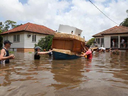Australia - Powodzie na wschodnim wybrzeżu -8