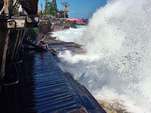 Bali, Indonezja - Z powodu wyjątkowo silnych pływów oceanicznych zginęło dwoje turystów -2