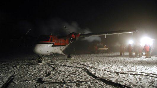 Biegun Południowy - Bardzo trudna akcja ratunkowa -1