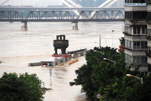 Chiny - Silne opady na południu kraju, co najmniej 25 osób nie żyje -3