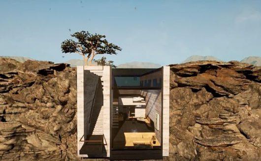 Dom wewnątrz klifu 4