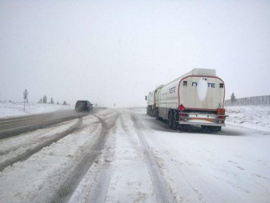 Finlandia - Burza śnieżna w czerwcu -5