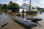 Historyczna powódź w Wirginii 1
