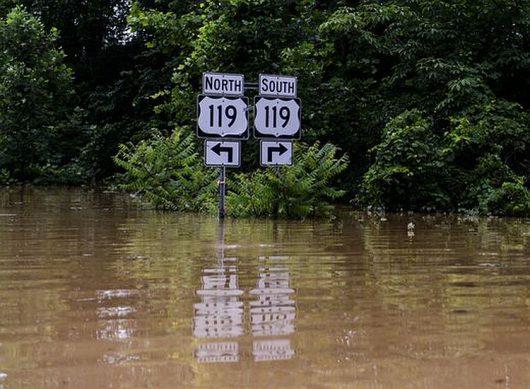 Historyczna powódź w Wirginii 4