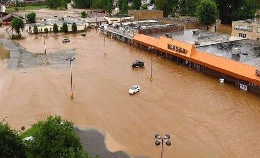 Historyczna powódź w Wirginii 7