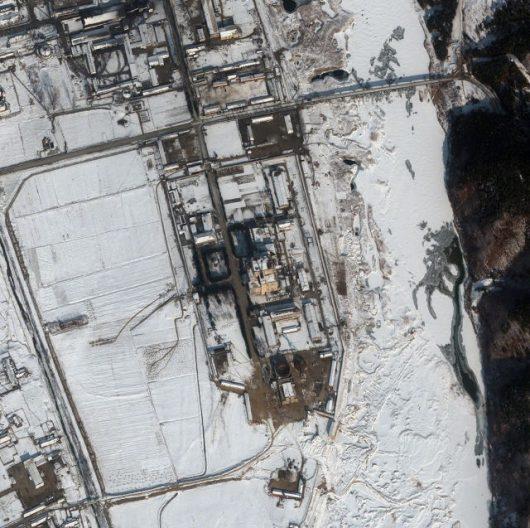 Koreańczycy ponownie włączą Jongbion. (zdj. satelitarne kompleksu zrobione 3 lutego 2012 r.)