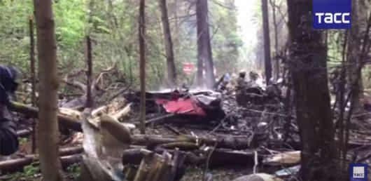 Muranowo, Rosja - Pod Moskwą rozbił się myśliwiec Su-27 -2