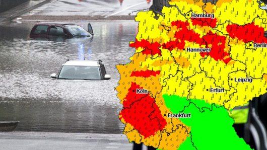 Niemcy - Na południu kraju ogłoszono stan klęski powodziowej -1