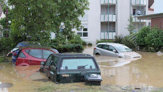 Niemcy - Na południu kraju ogłoszono stan klęski powodziowej -14