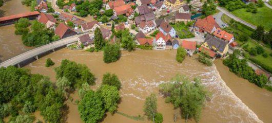 Niemcy - Na południu kraju ogłoszono stan klęski powodziowej -19
