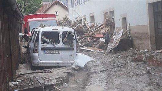 Niemcy - Na południu kraju ogłoszono stan klęski powodziowej -2