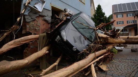 Niemcy - Na południu kraju ogłoszono stan klęski powodziowej -3